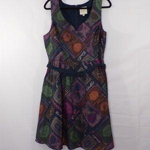Modcloth To Thrill A Mockingbird Dress, Sz XL,